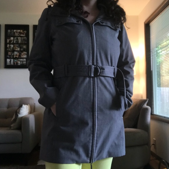 bbd67a94a6a Kristen Blake Jackets   Blazers - Metro rain jacket with detachable hood GUC